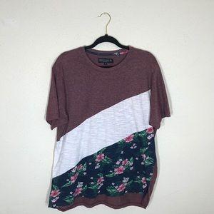 Men's floral Free Planet T-shirt